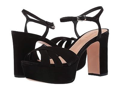 Schutz Keefa (Black Nubuck) High Heels