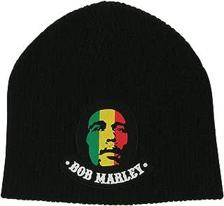 Bob Marley - Mens Bob Marley - Logo Beanie Black