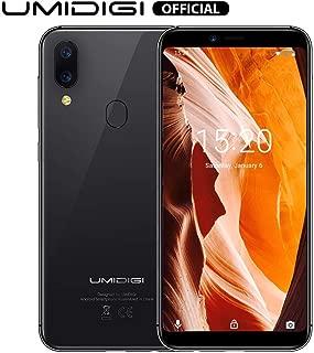 "UMIDIGI A3 Unlocked Phones Android 9.0 with 5.5"" Screen 16GB+2GB Ram - Triple Slot, 2 NanoSIMs+Micro-SD 12MP + 5MP Dual Camera 3300mAh Battery Global Version Unlocked Smartphones - Space Gray"