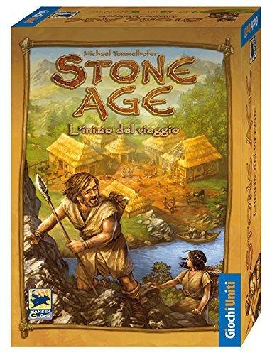 Giochi Uniti Stone Age - Juego de Mesa (versión en Italiano) [Importado...