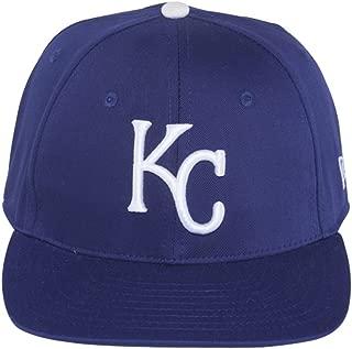 Kansas City Royals Blue Low Profile Snapback Adjustable Plastic Snap Back Hat/Cap Small/Medium