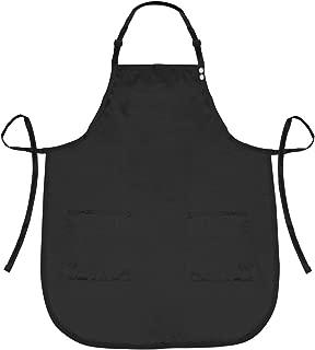 A Size Above Plus Size Salon Stylist Apron, Black, 2X