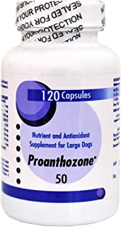 Virbac Proanthozone 50mg for Large Dogs (120 Caps)
