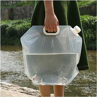 VISZC Paquet de 2 seaux Pliables, Sacs de Transport d'eau Portables Seau Pliable en Plastique pour la randonnée et Les Voy...