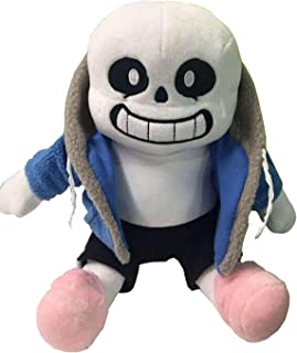UTUMR Undertale Sans Plush Stuffed Toy Doll Hugger Cushion Cosplay Doll for Kids (Sans)