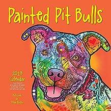 Painted Pit Bulls 2019 Calendar