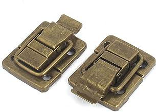 Sieraden doos Vintage stijl bevestiger Hasp Toggle Klink Bronzen Tone 2 stks