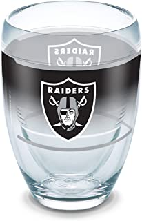 Tervis 1292841 NFL Oakland Raiders Original Tumbler,  9 oz,  Clear