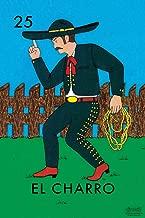 25 El Charro Cowboy Loteria Card Mexican Bingo Lottery Cool Wall Decor Art Print Poster 12x18