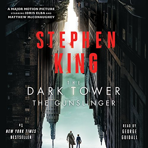 The Dark Tower I     The Dark Tower, Book 1              Written by:                                                                                                                                 Stephen King                               Narrated by:                                                                                                                                 George Guidall                      Length: 7 hrs and 20 mins     247 ratings     Overall 4.3