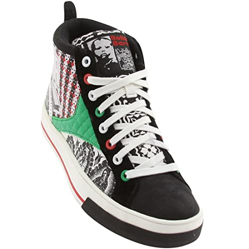 Reebok CL SW Canvas Mid RBC (Mexico - White/red/Black/Green