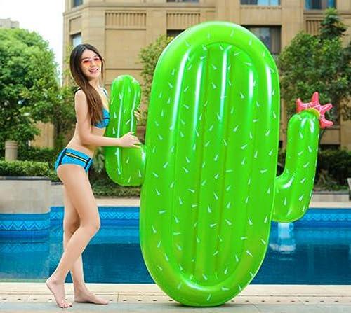 mas preferencial KIMSAI KIMSAI KIMSAI Cactus Forma Nadar Ring Hinchable Nadar Nadar Patch Playa Vacaciones Nadando Cama Fiesta de cumpleaños Niño y niña Agua Juguete  se descuenta