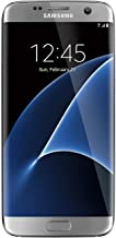 Samsung Galaxy S7 Edge SM-G935 Unlocked (Latest Model) - 32GB - Silver Titanium (Renewed)