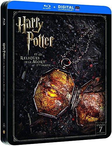 Harry Potter et les Reliques de la Mort - 1ère partie - Edition limitée Steelbook - Année 7 - Le monde des Sorciers de J.K. Rowling - Blu-ray [Édition Limitée boîtier SteelBook]