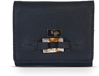Baggit Autumn-Winter 2020 Faux Leather Women's 3 Fold Wallet (Blue) (Chroma)