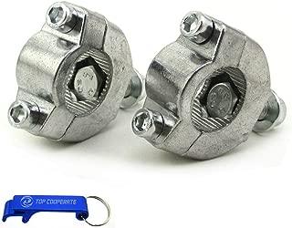 TC-Motor 7/8'' 22mm Handlebar Bar Risers Mount Bracket Clamp Taper For 2 Stroke 47cc 49cc Mini Moto Dirt Bike