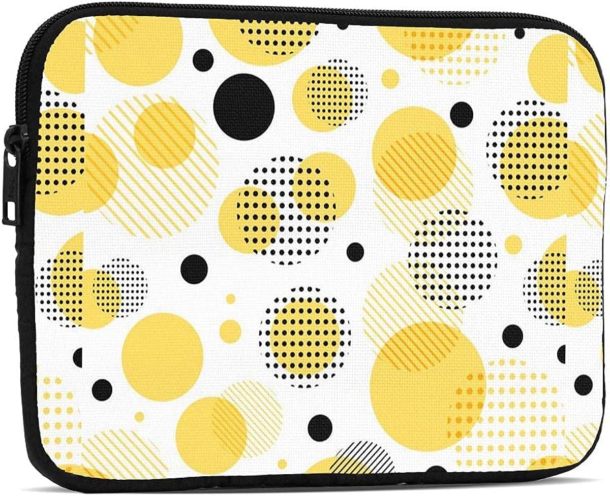Yellow Dots iPad Mini Case Shockproof Table Max 69% 5 popular OFF 5 Sleeve