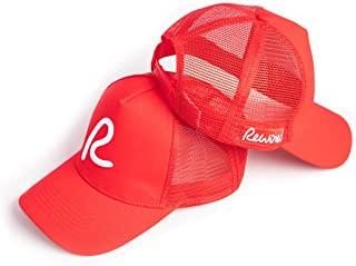 Baseball Cap Summer Breathable Hollow Open Mesh Adjustable Baseball Cap Men Women Ponytail Run Sport Hats (Black)