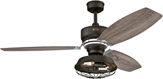 Westinghouse Lighting Welford ceiling fan, weathered bronze