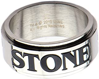 WWE Stone Cold Steve Austin Men's Stainless Steel Spinner Ring