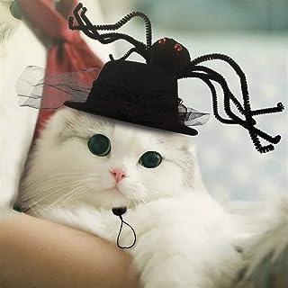 1pc Halloween Pet Headdress Spider Pattern Cute Halloween Cat Hat Pet Hat Puppy Hat Costume Cap Dog for Dog Pets Decoratio...