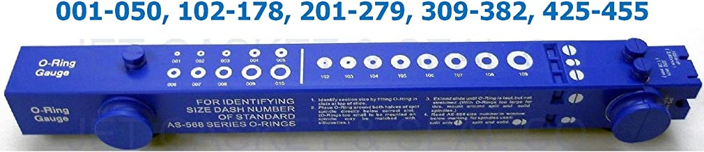 O-Ring Sizing Gauge Slide Style National Type AS568 TELESCOPING Size Guide Quick Delivery