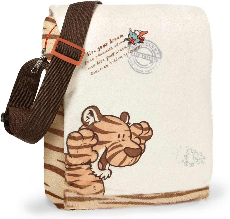 NICI Wild Friends Tiger Plush Shoulder Bag