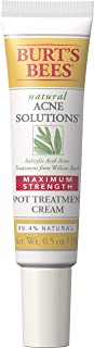 Burt's Bees Natural Acne Solutions Maximum Strength Spot Treatment Cream for Oily Skin, 0.5 Oz (Package May...