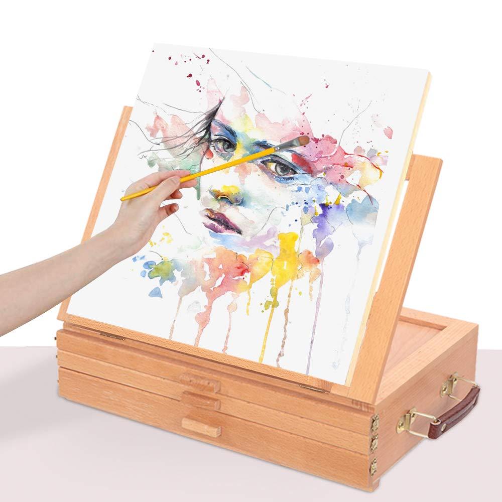Crazyworld Portable Displaying Adjustable Sketchbox