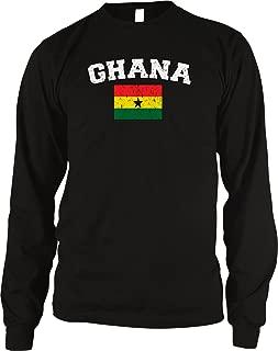 Flag of Ghana Men's Long Sleeve Thermal Shirt