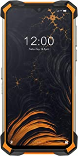 IP68/IP69K DOOGEE S88 Pro Rugged Phone 10000mAh BIG Battery Quick Changing Helio P70 Octa Core 6GB RAM 128GB ROM Android 10 OS (Orange)
