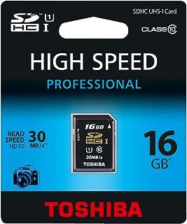 Toshiba 16GB SDHC - Tarjeta de Memoria SDHC de 16 GB (Class ...
