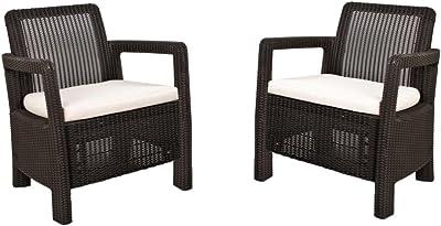 Chicreat silla plegable de 9 posiciones con juego de 2 ...
