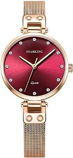 STARKING Watch Fashion Elegant Quartz Women Watch Fashion Dress Watch Lady TL0941 Waterproof Adjustable