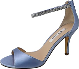Nina Womens Volanda Leather Open Toe Formal Ankle Strap Sandals US