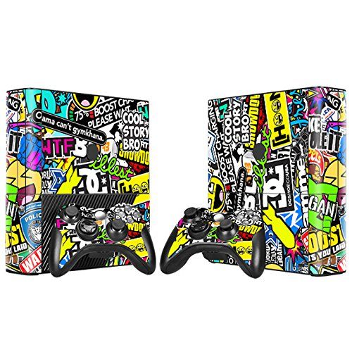 XBOX 360 E Skin Design Foils Aufkleber Schutzfolie Set - Hoonigan Motiv