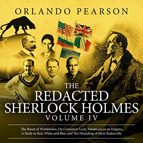 Couverture de The Redacted Sherlock Holmes: Volume IV