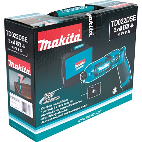 Makita TD022DSE 7.2V Lithium-Ion Cordless 1/4