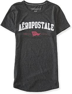 AEROPOSTALE Womens NYC Flag Embellished T-Shirt