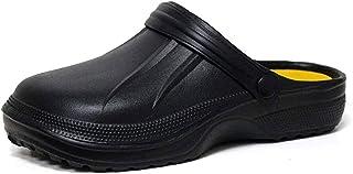 Mens Clogs Summer Slippers Garden Clogs for Men Garden Shoes Rubber Plastic Men's Clogs & Mules Theatre Clogs Pool Shower ...