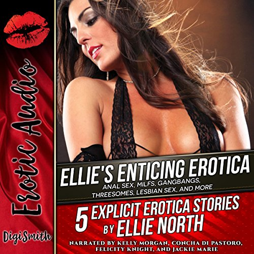 Ellie's Enticing Erotica audiobook cover art