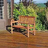 Kingfisher 2-Seater Hardwood Garden Patio <span class='highlight'>Bench</span>