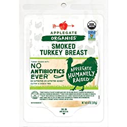 Applegate, Organic Smoked Turkey Breast, 6oz