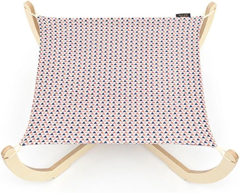 Cat Dog Mat Hammock Oxford Fabric Environmentfriendly Birch Pet Bed Mat Cat Bed