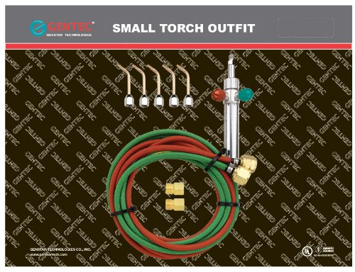 Gentec Small Torch Basic Kit, for...