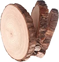Natural Wood Slices 3pcs 5