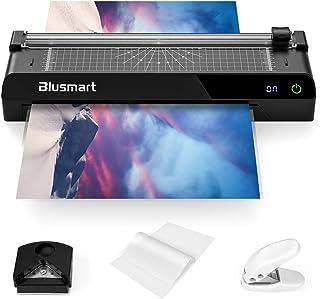 comprar comparacion Blusmart A3 6 in 1 Plastificadoras, Laminadora con pantalla táctil, Monitor de Temperatura, Recortadora de papel, 40 bolsa...