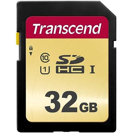 Transcend SDHCカード 32GB MLC NAND 採用 UHS-I Class10 (最大転送速度95MB/s) TS32GSDC500S-E【Amazon.co.jp限定】
