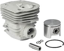Max Motosports Cylinder Piston Rebuild Kit Assembly for Husqvarna 350 346 351 353 Chainsaw 44mm