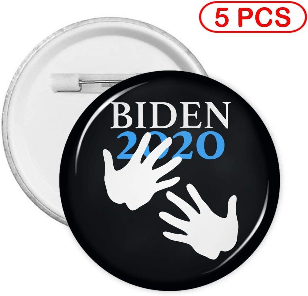 MACA1 Circle Badges,Joe Biden 2020 Round Badge Chest Pins Brooch